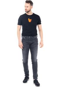 DIESEL Jeans Size W34 L34 Distressed Faded Slim Skinny SLEENKER 084NQ STRETCH