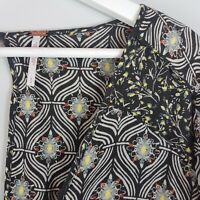 FREE PEOPLE  | Womens Rolling Hills Print Tunic / Top [ S or AU 10 / US 6 ]