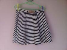Pure Hype Size S Striped Short Mini Skater Circle Skirt