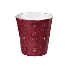Windlicht Teelichthalter - Goebel ARAQBESKE bordeaux - Traumlicht oriental