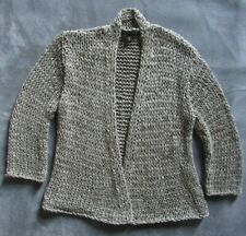 EILEEN FISHER Womens Gray Viscose Polyester Cardigan Sweater Sz US Small