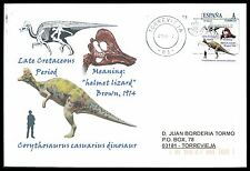 Spain dinosaur dinosaure dinosaurios-Custom Stamp-only 5 cover Made!!! cg37