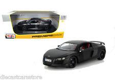 MAISTO AUDI R8 GT STEALTH BLACK 1/18 DIECAST CAR 36190BK