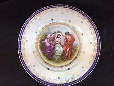 "Epiag Royal CZECHOSLOVAKIA GORGEOUS GREEK ITALIAN SCENE 10 1/2"" PLATE"