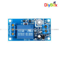 12V 1-Channel Relay Module Precise Capacitive Self-locking Touch Switch