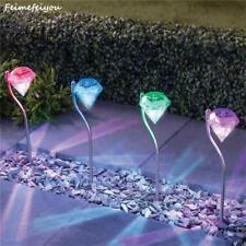 Solar Power Outdoor Lamp Lawn Garden Decor Landscape Yard Path Waterproof Lights