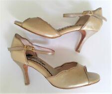 Women's tango shoes gold UK 3.5 (36) by Mr Tango Shoes