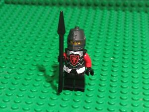 Dragon Knight Red 850889 70404 70402 Armor Spear Castle LEGO Minifigure WL74