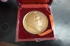 French 1967 French Medal Edouard Charret 50mm In Box