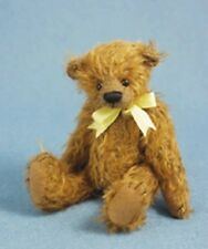 "DEB CANHAM  ""HERO""  INBETWEENIE 5"" BROWN MOHAIR JOINTED BEAR"