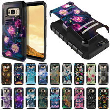 """For Samsung Galaxy S8 G950 5.8"""" Hybrid Shockproof Armor Kickstand Case Cover"""