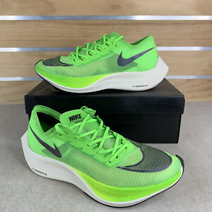 Nike ZoomX Vaporfly Next% Electric Green Black AO4568-300 Men's 11 Running Shoes