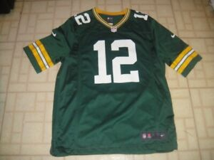 Nike Green Bay Packers NFL Aaron Rodgers Authentic Nike On Field Jersey NOS