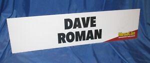 DAVE ROMAN  MegaCon 2018 Display Sign for Booth (DC Comics/Bizarro World/Art)