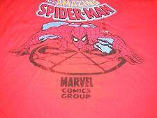 XL Amazing Spiderman Red Disney Tee Shirt NWT