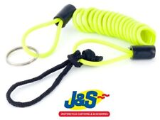 Bike It Mammoth Disc Lock Reminder Cable LODCOIL Green Motorcycle Security J&S