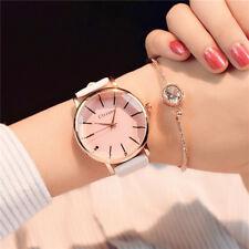 Women Luxury Quartz Watch Casual Watch Round Dial Design Leather Wristwatch