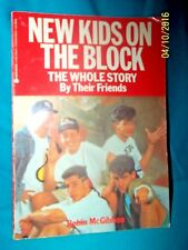 1990 New Kids On The Block Book -The Whole Story by Robin Mcgibbon Vgc