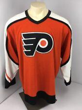 Philadelphia Flyers Vintage CCM Adult Hockey Jersey Blank XL Stitched EUC VTG
