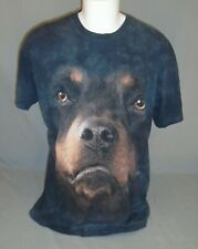 The Mountain Big Face Rottweiler Tie Dye T-Shirt Adult Size Extra Large XL