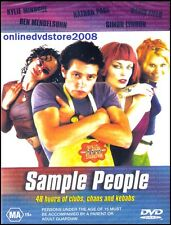 SAMPLE PEOPLE (Kylie MINOGUE Ben MENDELSOHN) Sex Drugs Aussie Film DVD Region 4