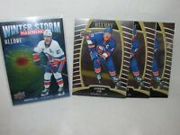 Anders Lee - 4 Card Lot * 2019-20 Upper Deck Allure * Winter Storm and 3 Base