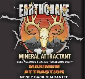 EARTHQUAKE DEER NUTRITION AND ATTRACTANT