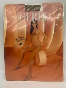 1 pr Gerbe Blush Tights - Size 1 - Color: Beige - Made in France