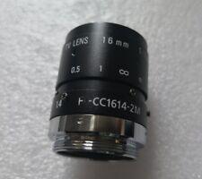 1pc Used RICOH FL-CC1614-2M 16mm 2 megapixel industrial camera lens