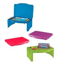 Folding Lap Desk with Storage for Kids Great for Traveling