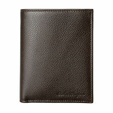 Hugo BOSS Men/'s Black Leather Wallet /'Dollar 8 cc/' Bi-fold Style 50311969 New