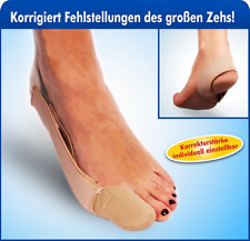 Zehenspreizer Korrekturbandage Zehenkorrektur Bandage Hallux Valgus Ballenschutz