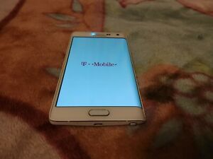 Samsung Galaxy Note Edge SM-N915T - 32GB - Frost White (T-Mobile)