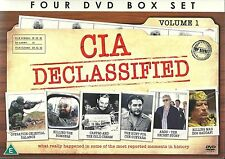 CIA DECLASSIFIED 4 DVD BOX SET - TRUE STORIES OF THE CIA'S MAJOR OPERATIONS