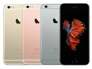 Apple iPhone 6s Plus Gray Rose Gold Silver 128GB GSM Factory Unlocked - Good