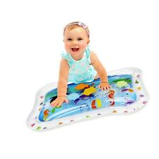KLEEGER Inflatable Baby Water Mat: Fun Activity Play Center. for Children & I...