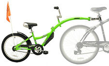 NEW WeeRide Co-Pilot Child Bike Bicycle Trailer Seat Copilot Tandem Safety GREEN