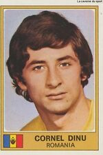 CORNEL DINU EURO FOOTBALL 76 STICKER CROMO PANINI FIGURINE ROMANIA