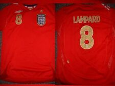 England LAMPARD Shirt M Boys Girl Youth Umbro Football Soccer Jersey Chelsea ~