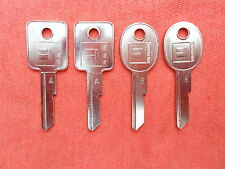 4 CHEVY BUICK PONTIAC OLDS KEY BLANKS 67 71 75 79 83 84 85 86