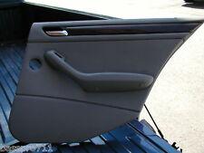 2003 BMW 325 325I E46 DOOR PANEL REAR RIGHT OEM GREY
