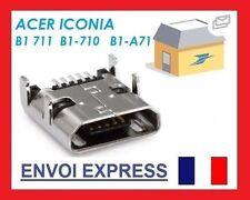 Connecteur de charge Micro USB Dock pour Acer Iconia B1-711