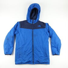 The North Face Boys Youth Size XL Reversible Hooded Ski Jacket Blue
