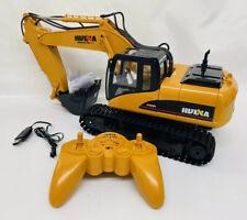 HUINA Construction Top Strong Power RC Excavator Bulldozer w/ Remote Control