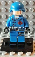 "MINIFIGURES : GIJOE G.I.JOE ""Cobra Commander"" ...  Custom Blocks ... NeW!!"