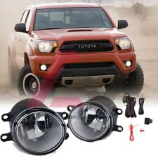 For 2012-2015 Toyota Tacoma Fog Lights Driving Lamps Replacement DOT Clear Lens