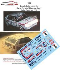 DECALS 1/24 REF Lancia Delta Integrale  Cerrato Cerri Rallye Sanremo 1990
