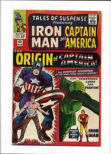 "TALES OF SUSPENSE #63  [1965 GD-VG]  ""THE ORIGIN OF CAPTAIN AMERICA!"""