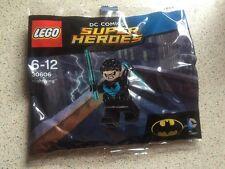 LEGO NIGHTWING minifigura 30606-NUOVO SIGILLATO-ORIGINALE ABITO BLU-RINASCITA DC