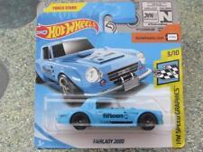 Hot Wheels 2018 #055/365 Nissan FAIRLADY 2000 blue HW Speed graphics